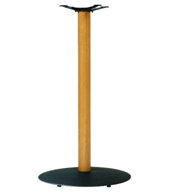 Olympic B2 Black Base Beech Poseur Height Column