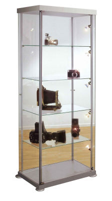 Expo 2 Rectangular Glass Display Cabinet