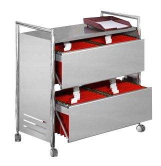 Starlight Two Drawer Filing Trolley