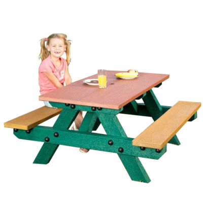 Oasis 100% Recycled Plastic Picnic Table