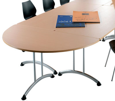 Transunion Half Moon Folding Tables