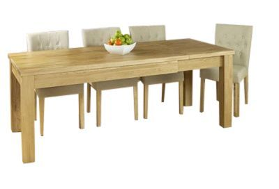 Warwick Extendable Solid Oak Dining Table