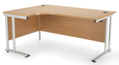Flite Left Hand Corner Desk