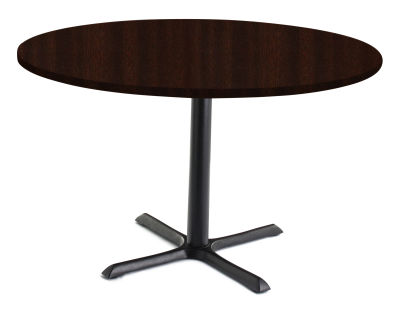 TB Large Circular Cafe Tables Wenge