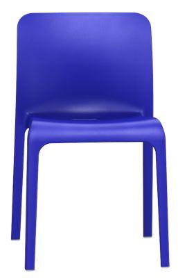 Pop Chair In Ultramarine Blue Front View
