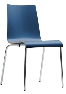 Star Designer Chair In Blue Laminate