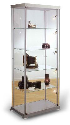 Expo 2 Rectangular Glass Display Cabinet
