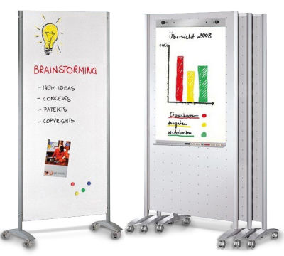 Metropole Mobile Magnetic Whiteboard