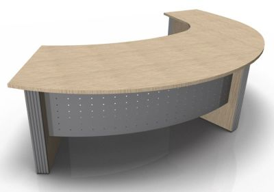 Direction Style Curved Desk And Curved Return Desk WO
