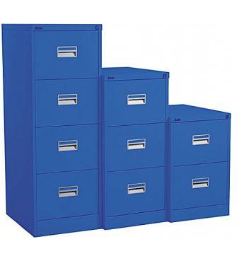 Silverline Midi Filing Cabinets - Metal Filing Cabinets 1322668910232