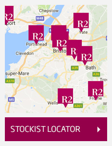 Find your nearest R2 stockist