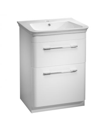 Revolve 600 Freestanding Unit - White