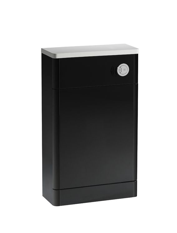 500mm slimline back to wall wc unit anthracite r2