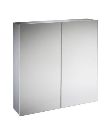 Rise 600mm Double Mirror Door Cabinet
