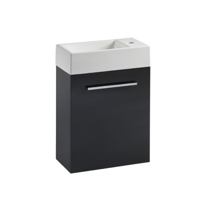Drive 400 Wall Mounted Unit & Basin - Anthracite