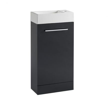 Drive 400 Freestanding Unit & Basin - Anthracite