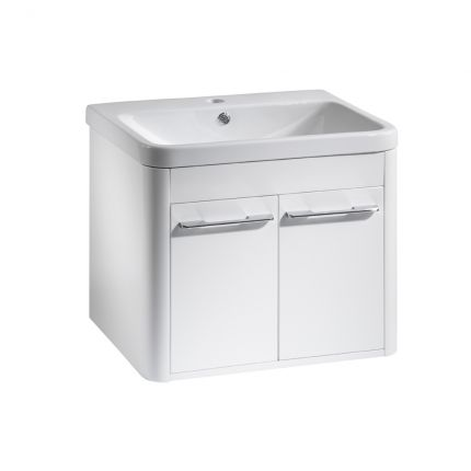 Contour 600 Wall Mounted Unit - White