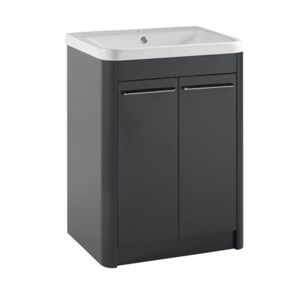 Contour 600 Freestanding Unit - Anthracite