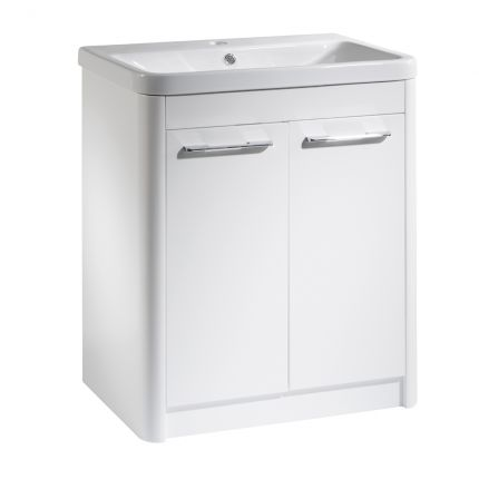 Contour 700 Freestanding Unit - White