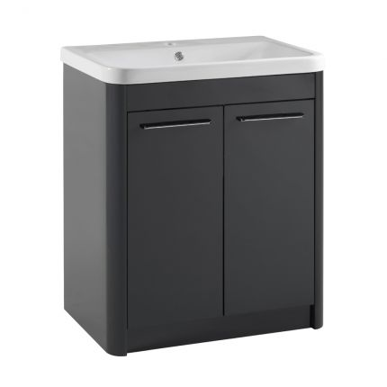 Contour 700 Freestanding Unit - Anthracite