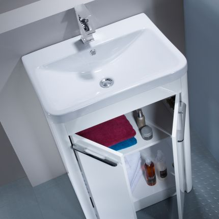 Contour 600 Freestanding Unit - White