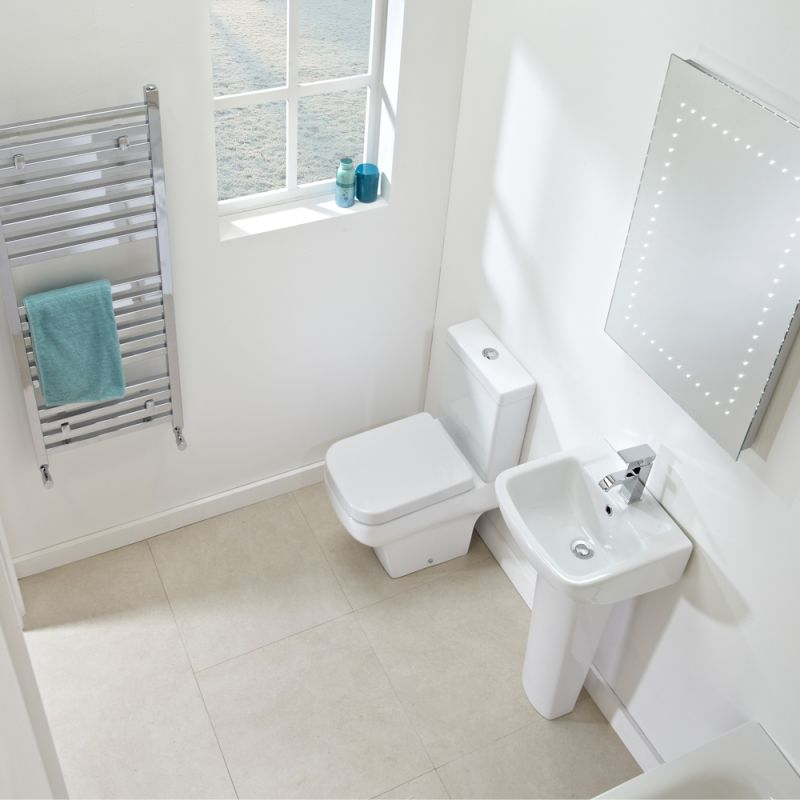 Mini Close Coupled WC Pan & Cistern - R2 Bathrooms