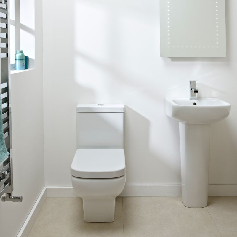 Mini Wc mini coupled wc pan cistern r2 bathrooms