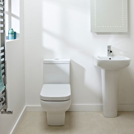 Mini Close Coupled WC Pan & Cistern