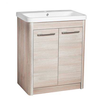 Contour 700 Wall Mounted Unit - Washed Oak