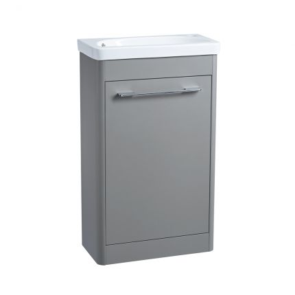 Contour 500 Cloakroom Unit – Stone Grey