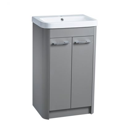Contour 500 Freestanding Wash Unit – Stone Grey