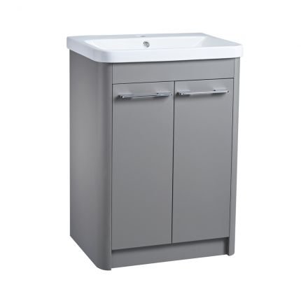 Contour 600 Freestanding Unit – Stone Grey