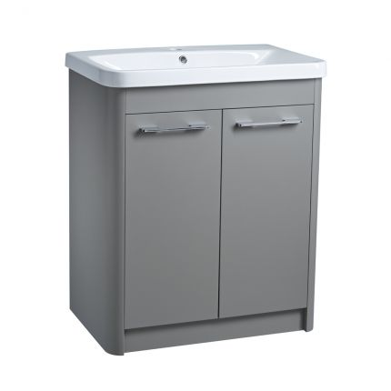 Contour 700 Freestanding Unit - Stone Grey