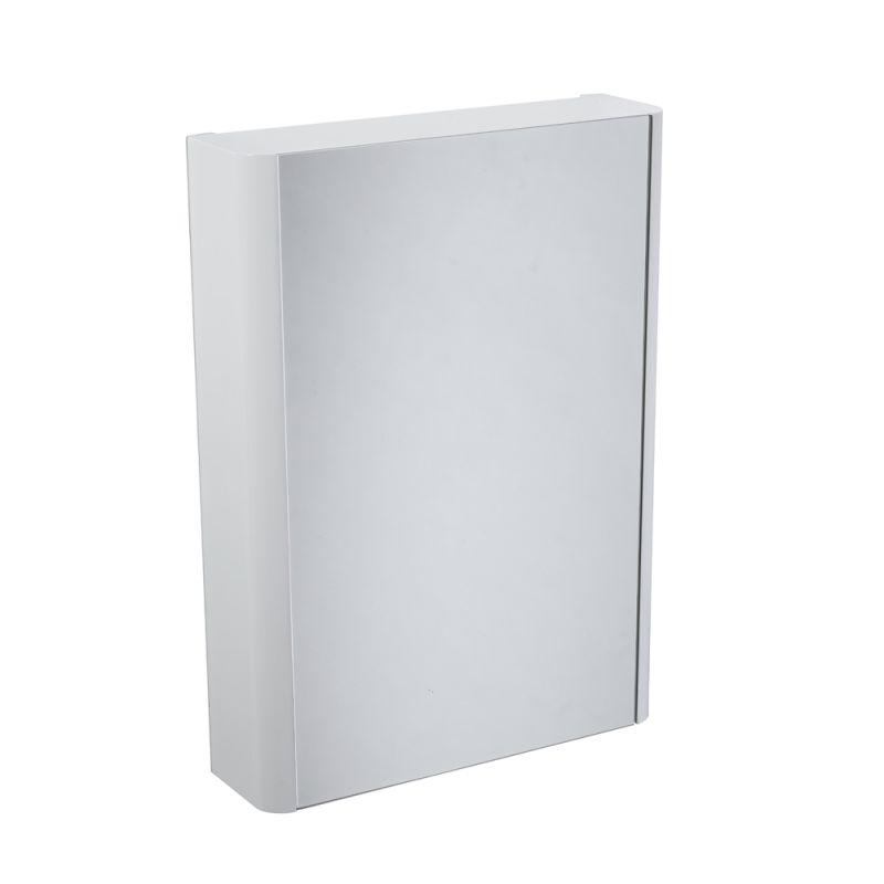 Contour Single Door Cabinet White R2 Bathrooms