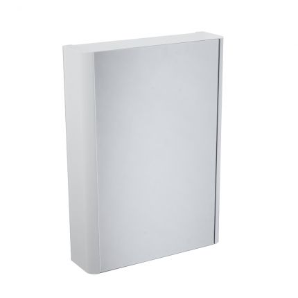 Contour Single Door Cabinet - White