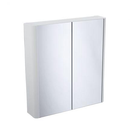Contour Double Door Cabinet - White