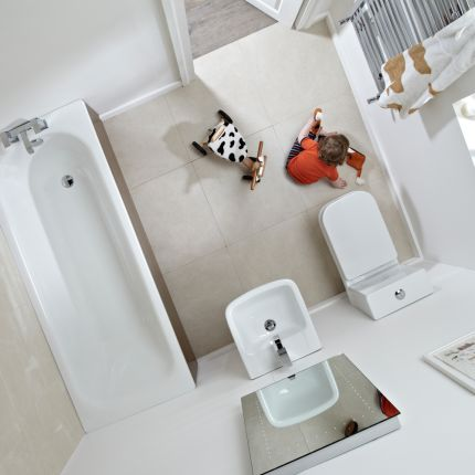 Mini Comfort Height WC Pan
