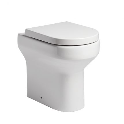 Debut Back To Wall Comfort Height WC Pan