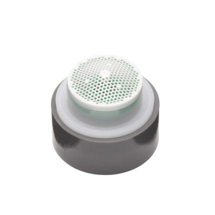 Basin mixer tap flow aerator