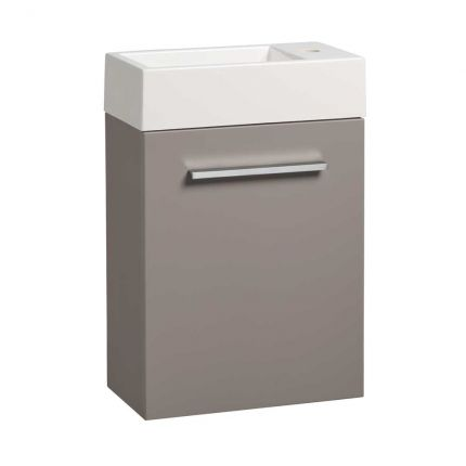 Drive 400 Wall Mounted Unit & Basin - Stone Grey