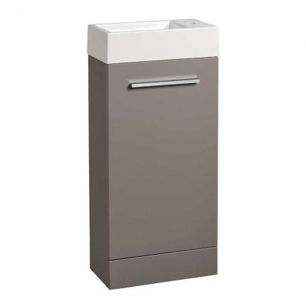 Drive 400 freestanding Unit & Basin - Stone Grey