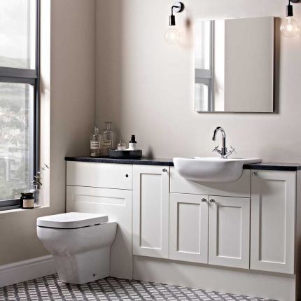 Stow Natural White Fitted Furniture