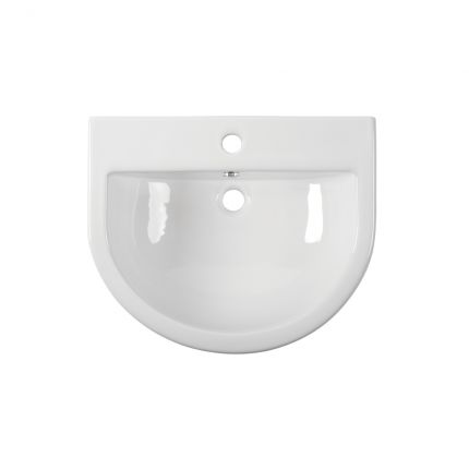 560mm Semi-countertop basin