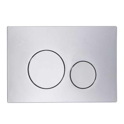Rondo Dual Flush push plate - chrome