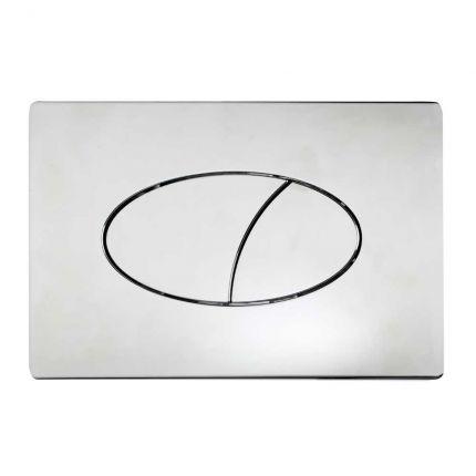 Ellipse Dual flush push plate