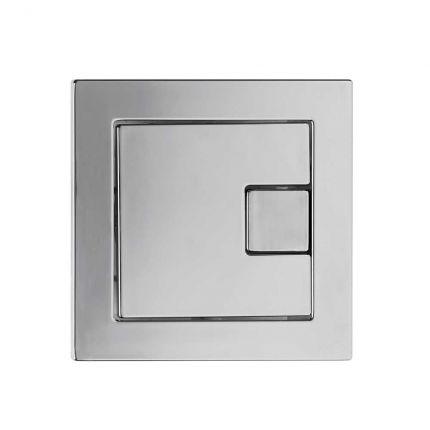 Square Dual flush button