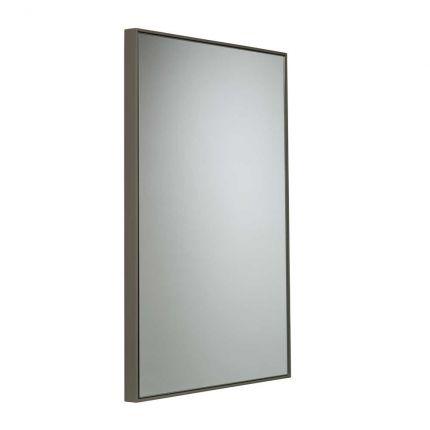 500mm Framed mirror - Stone grey