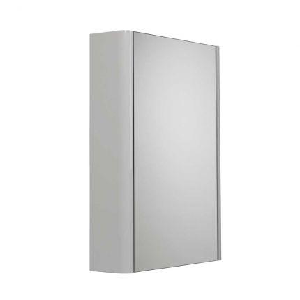 Single door cabinet - light grey
