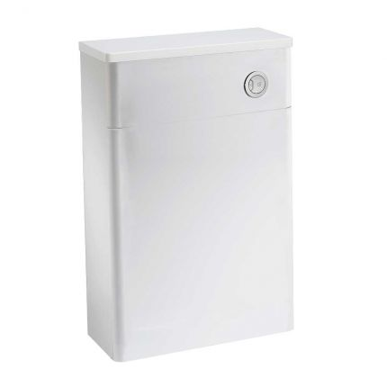 Back to Wall WC Unit - White
