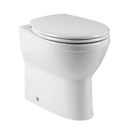 Minerva Comfort height Back to wall WC pan